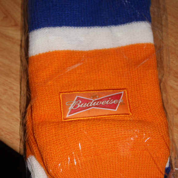 Budweiser the king of beers scarf